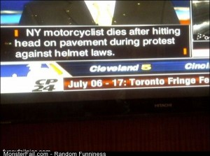 No Helmet Laws