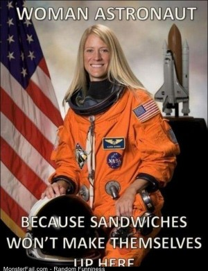 Funny Pics Women In Space