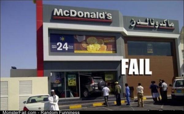 Fail great Parking