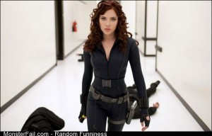 Funny Pics Black Widow