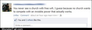 Art of Trolling True Christians Dont Use Wifi