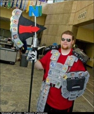 Funny Pics The Nintendo Man