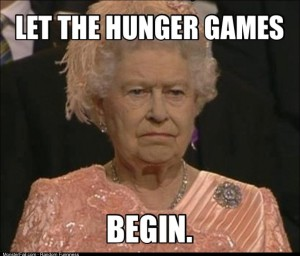 The Queen during the Opening Ceremony