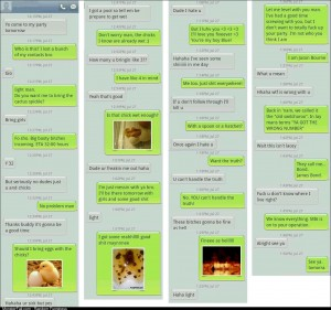 Got a text from a random number