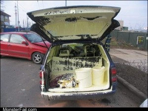 Monster fail Transporting Paint FAIL