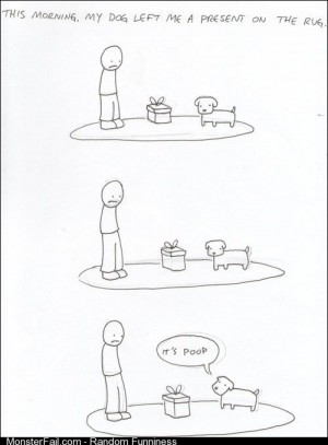 I never liked those presents