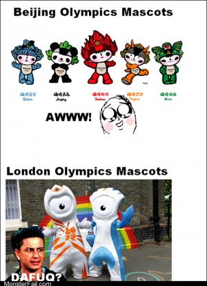 Seriously London Hire a New Mascot Designer Guy Next Time