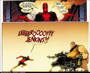 Gah damnit Deadpool
