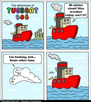 The adventures of Tugboat Bob