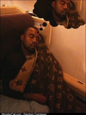 What Kanye dreams about