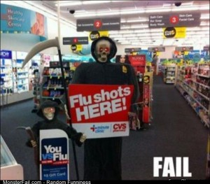 Fail flu Shots Here