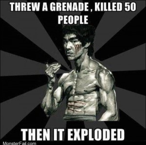 Badass Bruce Lee