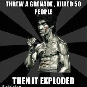Badass Bruce Lee