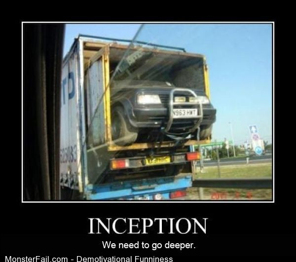 Demotivational  Motivational Inception