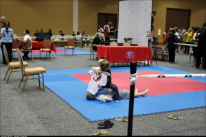 One of my friends captured this heartwarming moment at a recent martial arts tournament in Orlando