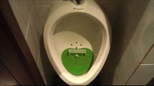 The most fun I had with a urinal ever