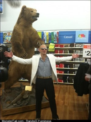 We did it Pitbull went to the Walmart in Kodiak Alaska Great job internet