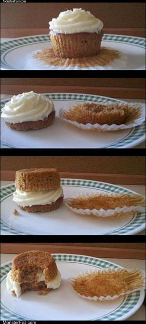Cupcake sammich