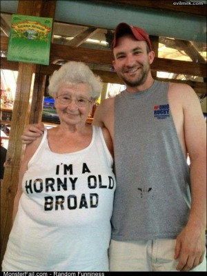 Funny Pics An Old Broad