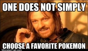 Pokmemes I Dont Even Have a Favorite Type