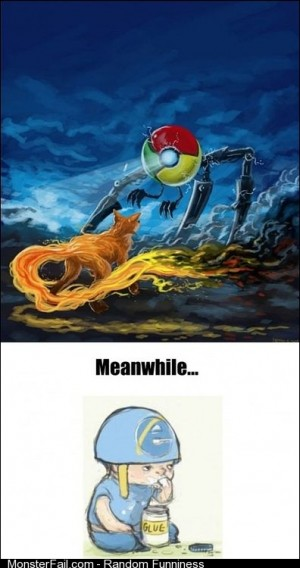 Browser Wars in a nutshell