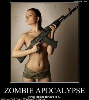 Funny Pics Zombie Apocalypse