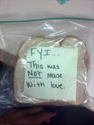 Ill remember the please next time I ask my girlfriend to make me lunch