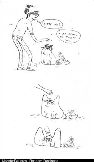 Friggin jerk cats