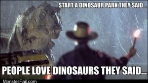 Jurassic Regret
