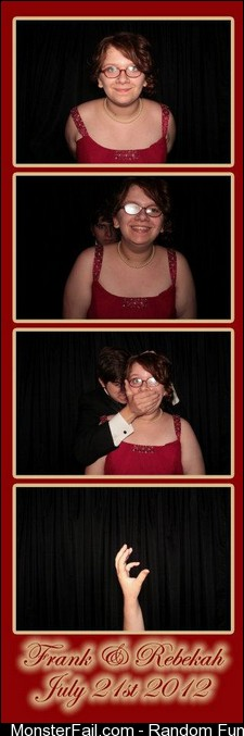 My moms wedding had a photobooth