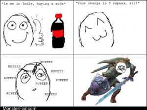 A Whole Blue Rupee