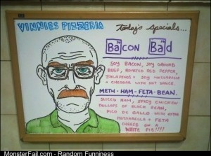 Breaking Bad food
