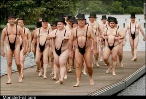 Fashion fail Poorly Dressed The Mankini Parade is In Town