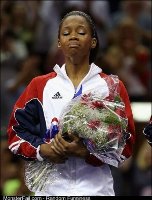 The first AfricanAmerican female gymnast to win a gold medal