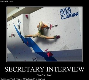 Funny Pics Secretary Interview