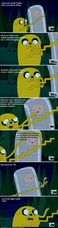 15 tiers of a relationship By Jake the dog