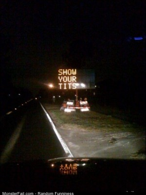Funny Pics Useful Road Sign