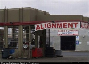 Fail alignment