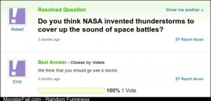 Yahoo Answers never dissapoints