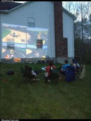 Mario kart house