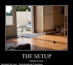 Demotivational  Motivational The Setup