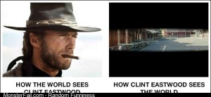 The views of Clint Eastwood