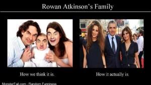Rowan Atkinsons family