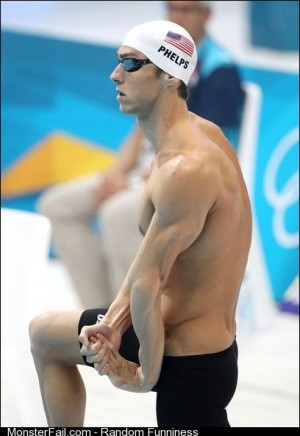 I dont think Michael Phelps understand how arms work