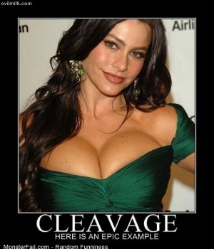 Funny Pics Cleavage