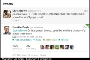 Chris Brown On The Olympics