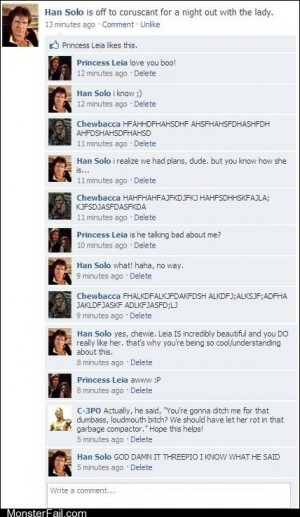 Funny facebook fails DAMMIT THREEPIO