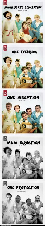 Five Shops One Direction