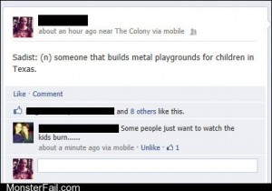 Funny facebook fails Screaming Children
