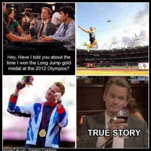 There is a NPH lookalike in team GB